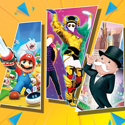 Save BigNintendo Switch Ubisoft Spring Sale