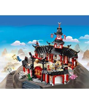 8折起+直邮中澳Lego NINJAGO 幻影忍者系列 少见东方风格