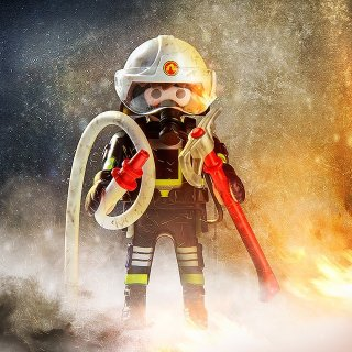 圆一个英雄梦 8.5折新品上市:Playmobil 德国儿童创造性拼装玩具 消防员系列全新上架