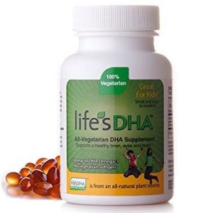 Life's DHA Kids All-Vegetarian DHA Dietary Supplement,100mg, 90 Softgel @ Amazon