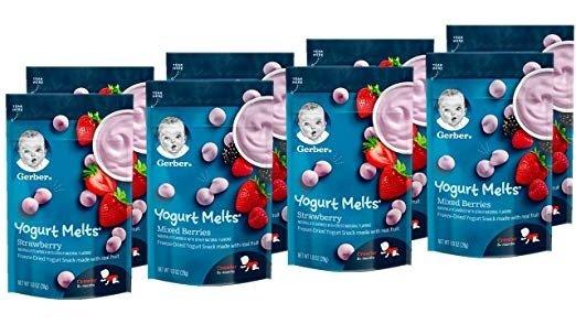 混合莓类溶豆8袋装