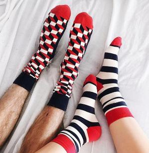 7折+包邮双12独家:Happy Socks 袜子超值特卖