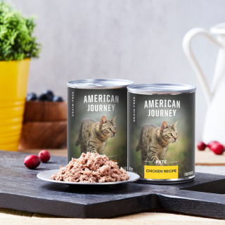 Free Cat Litter with PurchaseAmerican Journey Cat Wet Food on Sale