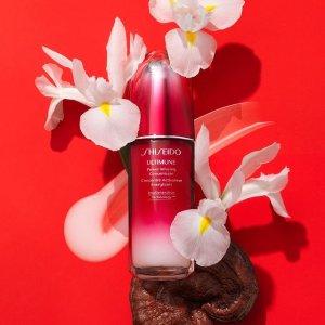 限时8.5折+送红腰子等2件小样Shiseido 资生堂好价 收悦薇「小针管」眼霜、红腰子精华套装