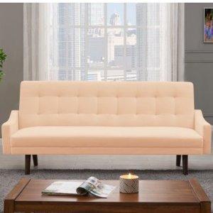 $186.75Homesvale Ophir 天鹅绒沙发床 多色可选