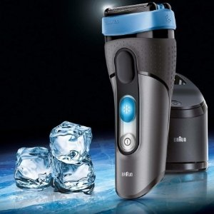 Braun CoolTec Men's Electric Foil Shaver (Grey/Blue)