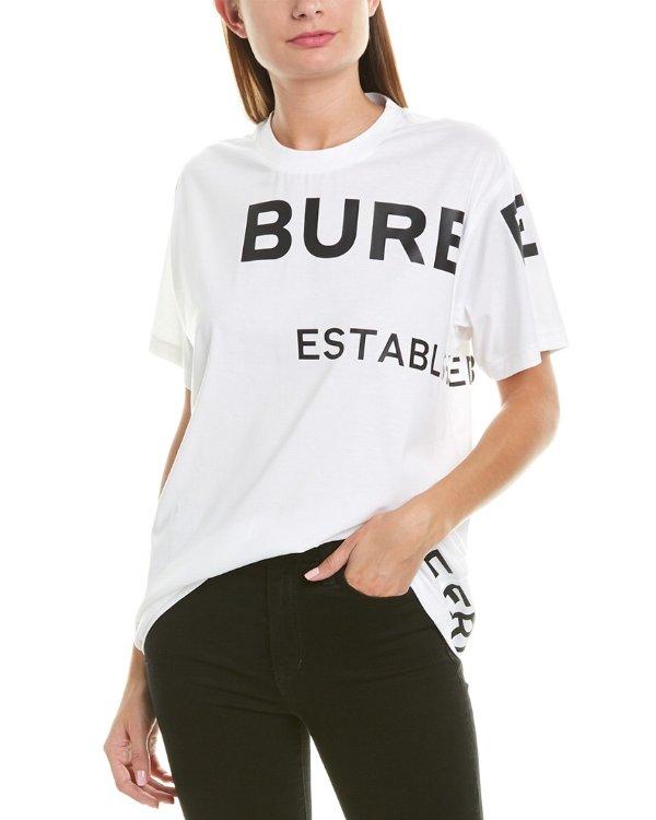 Horseferry Print T恤