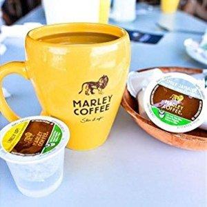 $8.64 免邮 精品耶加雪夫咖啡白菜价:Marley Coffee 100%埃塞俄比亚咖啡豆 中度烘焙24枚