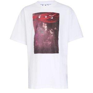 Off-WhiteSprayed Caravaggio t-shirt