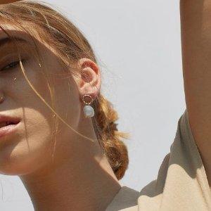 最高享75折+包邮Ana Luisa官网 耳钉、手链等配饰热卖