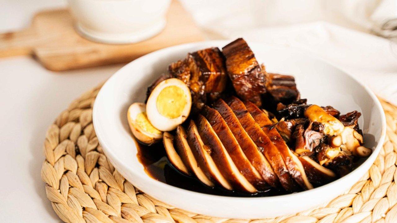 祖传菜谱之上海经典菜——墨鱼大烤🦑附解剖墨鱼图解步骤🧾