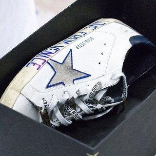 8.5折 平底鞋£219收Golden Goose 小脏鞋精选热卖,经典款涂鸦小脏鞋£247