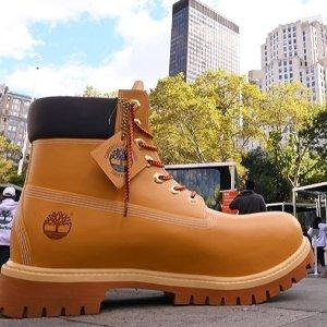 全场85折 $136收加绒款最后一天:Timberland 特卖专场 好价收经典小黄靴 秋冬必备
