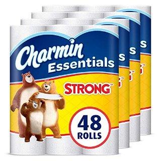 史低价:Charmin 强韧型超大卫生纸48卷