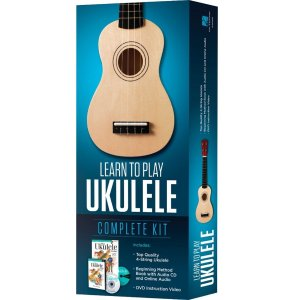 Hal Leonard 4-String Ukulele learn to play kit