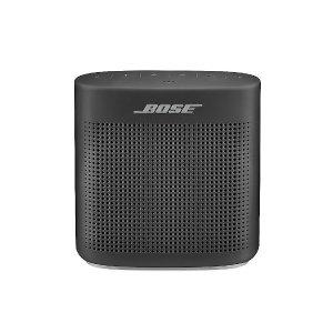Bose SoundLink color II 黑色蓝牙音响 折扣可入