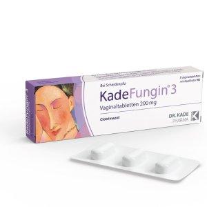 德国KADEFUNGIN 3 妇科用抗菌保湿调节PH凝胶套装