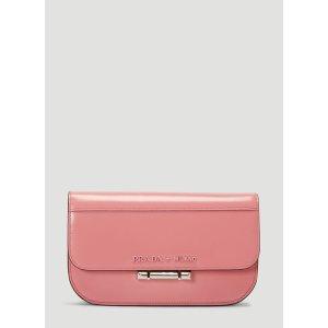 PradaSybille Leather Shoulder Bag in Pink