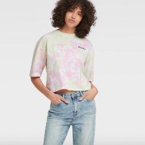 低至2折+额外7折 $17.5收封面款DKNY 折扣区精选服饰热卖 时尚又简约