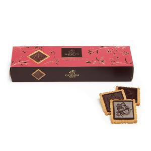 $7.61GODIVA Chocolatier Lady Godiva Biscuits, Dark Chocolate, 3.5 Ounce
