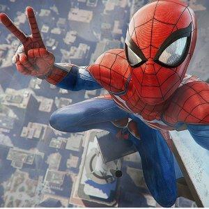 现价 £349.99(原价£371.98)PS4 Pro 1TB 蜘蛛侠限量同捆版 + 限量版守望先锋