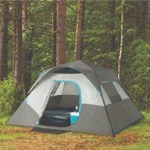 $59(原价$99.99)+包邮Ozark Trail 6人用户外野营帐篷