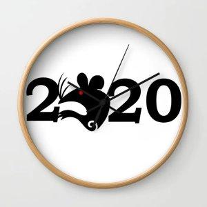 7.5折,包邮独家:Society6 创意生活馆鼠年全站促销,收定制时钟