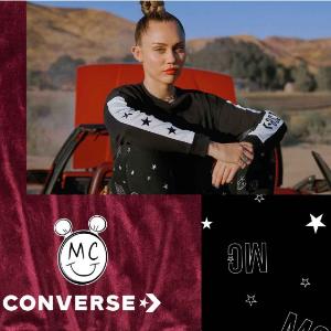 $90起  童年经典,收藏价值高限量开抢:Converse & 米奇、Kitty猫 联名款上新