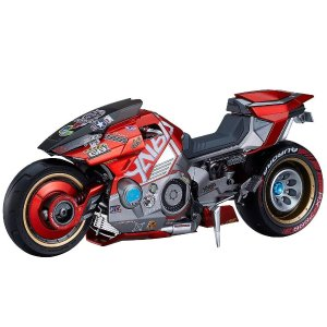 $114.99 致敬阿基拉新品预告:《赛博朋克 2077》草薙刃摩托车, 良笑社出品