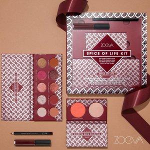全线直接7折 六色盘€10黑五开抢:Zoeva 德国彩妆代表 平价眼影盘、化妆刷等超值入手