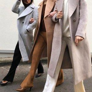 王妃同款大衣$146 阿迪杨幂同款7折今日抢好货:皇室优雅范 Club Monaco额外6折