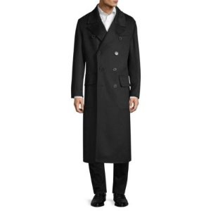 Burberry- Splittable 双排扣羊绒大衣
