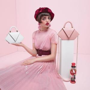 7折+免邮+赢$300礼卡西班牙设计师品牌Nina Hauzer全场热卖,封面款腰包斜挎两用包€202