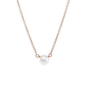 珍珠锁骨链