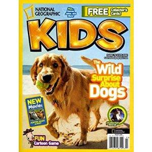 $15国家地理杂志儿童版年刊订阅 共10期