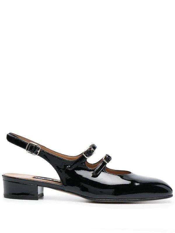 黑色玛丽珍鞋