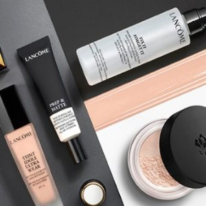 15% off + Choose your 6 piece sample giftNew Arrival @ Lancome