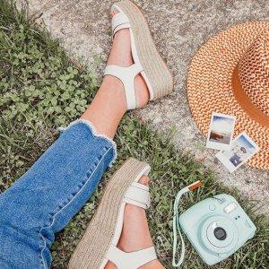 低至3.1折+低至额外5折Naturalizer 凉鞋限时大促 清凉一夏从脚开始 厚底凉鞋$20