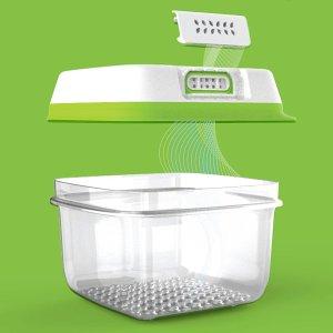 Rubbermaid FreshWorks 蔬果保鲜盒4.6 Cup x 2件
