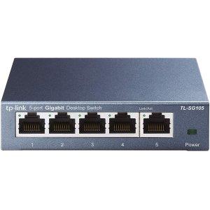 TP-Link TL-SG105 5口非管理型千兆交换机