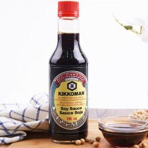 $3.99(大统华$5.39)Kikkoman 龟甲万日式酿造酱油 296ml 全能酱油王中王 比超市便宜