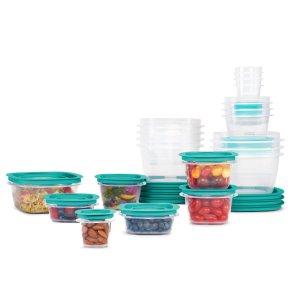 Rubbermaid 食物密封储存盒 42件套