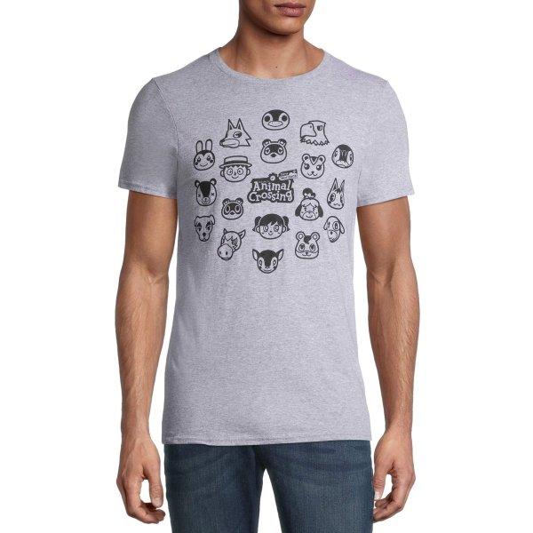 动物之森主题T恤