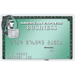 Earn 15,000 Membership Rewards® Points. Terms Apply.Business Green Rewards Card from American Express