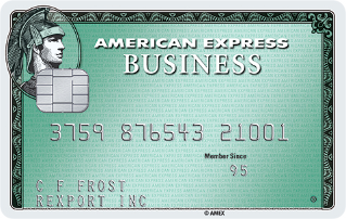 Limited Time Offer: Earn Up to 3X Membership Rewards® points on selected categories in the first 3 months. Terms Apply.Business Green Rewards Card from American Express