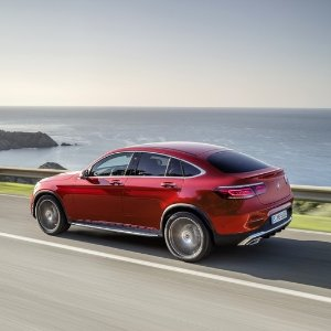 热门SUV跨界版 马力提升2020 Mercedes Benz GLC Coupe 全新上市