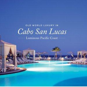 $206起 海景套房+所有餐饮+娱乐活动墨西哥卡波圣卢卡斯 Pueblo Bonito 5星级全包度假村