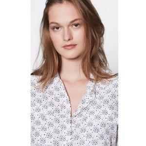 额外7.5折 收经典真丝衬衣EQUIPMENT 折扣区服饰优惠