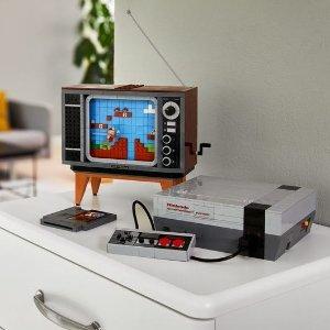 已发售 $299.99收Lego 任天堂联名互动 经典游戏红白机 赶紧冲鸭