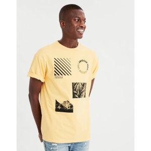 AEOAE Drop-Shoulder Graphic T-Shirt